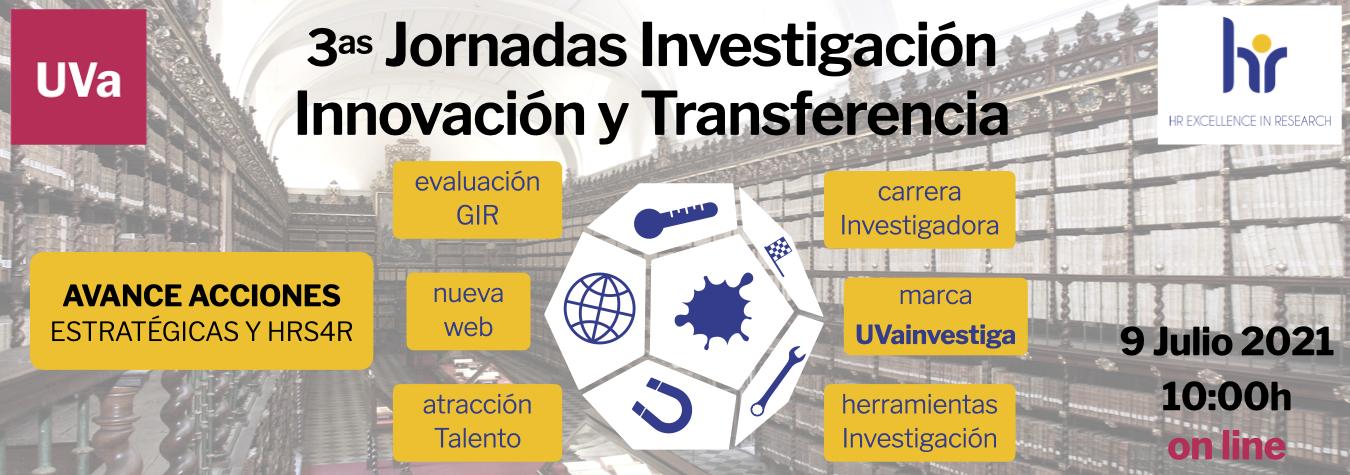 Jornadas Investigación, Innovación y Transferencia UVa 2021